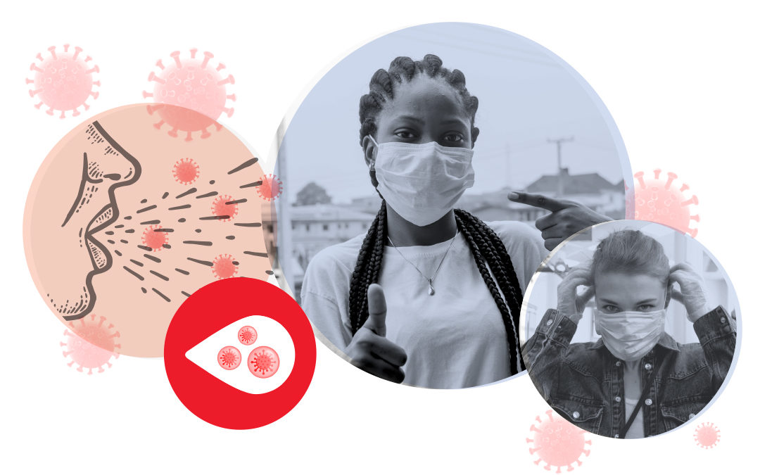 How wearing a mask could slow down the spread of Coronavirus